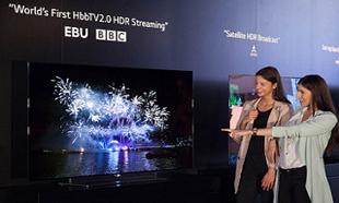 LG전자, 글로벌 방송사와 HDR 영상혁명 이끈다