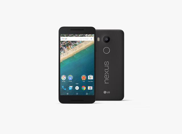 LG전자와 구글이 선보인 '마시멜로(Marshmallow)' 운영체제 레퍼런스폰 '넥서스5X(Nexus 5X)' 제품 이미지 입니다.