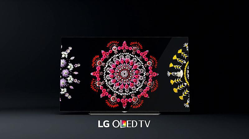 LG 올레드 TV 광고 이미지