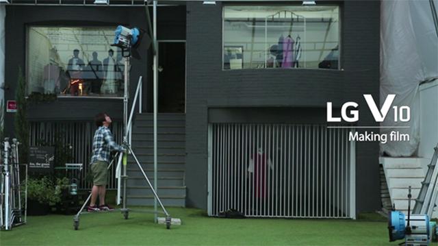 LG V10 라이프스타일 영상 메이킹 필름 인트로.