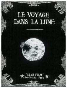 조르쥬 멜리에스의 '달세계 여행' 포스터