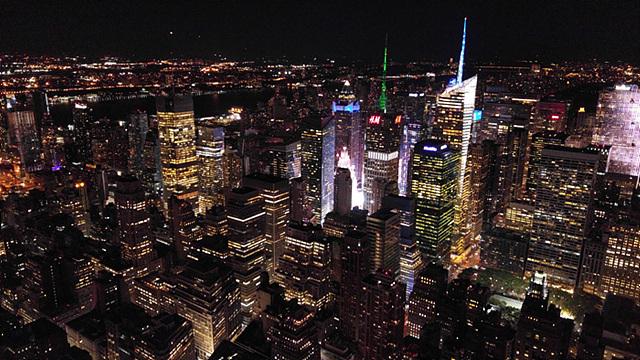 엠파이어 스테이트 빌딩에서 바라 본 뉴욕 야경