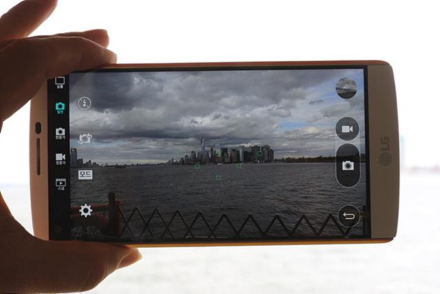 LG V10 카메라 전문가 모드
