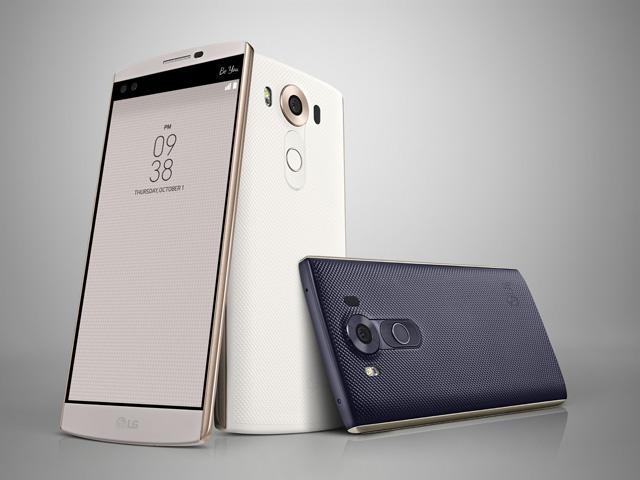 LG V10 한국 출시제품 이미지 입니다.