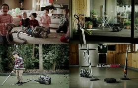 LG전자 코드제로 싸이킹 동영상 주요 장면 입니다.