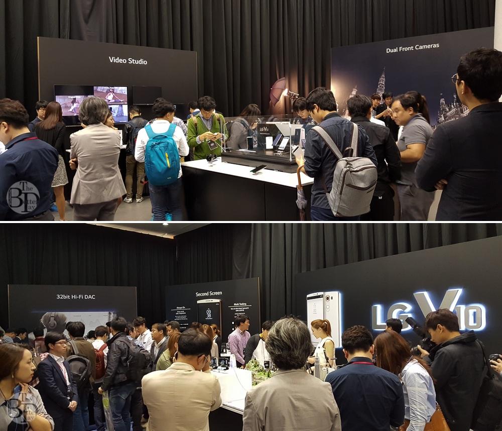LG V10 신제품 발표회 현장을 가득 채운 블로거들