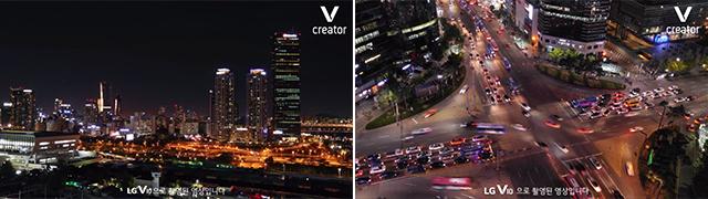 LG V10 타임랩스 기능 및 전문가 모드 활용