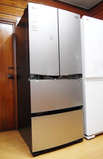 LG 디오스 김치톡톡 메탈컬러 냉장고