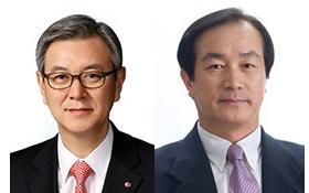 이상봉 사장(좌), 홍순국 사장(우) 사진 입니다.