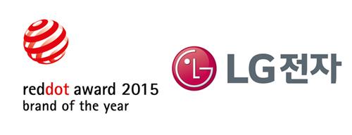 레드닷 로고와 LG전자 로고 이미지 입니다.