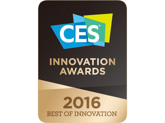 * CES 2016 최고 혁신상 로고 이미지 입니다.