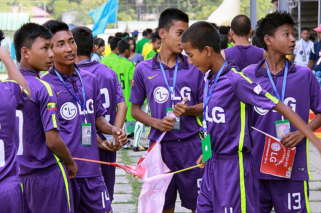 미얀바 'LG Cup Youth Football Championship 2015