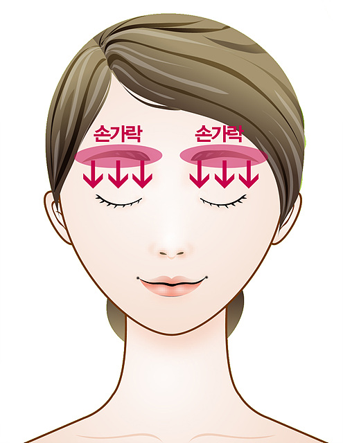 눈매 건강을 위한 셀프 마사지법 2