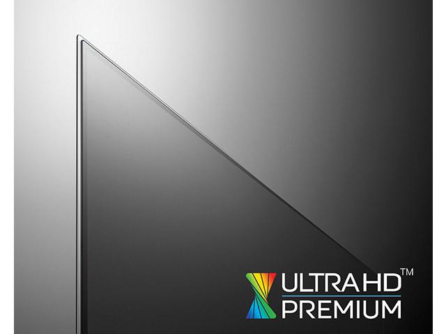 LG전자 울트라 올레드 TV 2개 시리즈 4종(모델명: 77G6, 65G6, 65E6, 55E5)이 5일 'UHD얼라이언스(UHD Alliance)'로부터 '울트라 HD 프리미엄(Ultra HD Premium)' 규격으로 인정받았다. '울트라HD 프리미엄'은 HDR, 명암비, 색재현율, 밝기 등 모든 면에서 기존의 화질을 뛰어넘는 TV임을 인정하는 화질 규격이다. 올레드 TV 제조사 중 이 규격을 인정받은 회사는 LG전자가 유일하다.