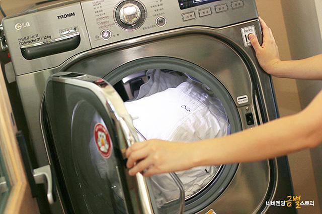 바쁜 명절, LG 트롬의 '이불 세탁' 코스를 통해 미리 세탁을 해두는 것은 필수!