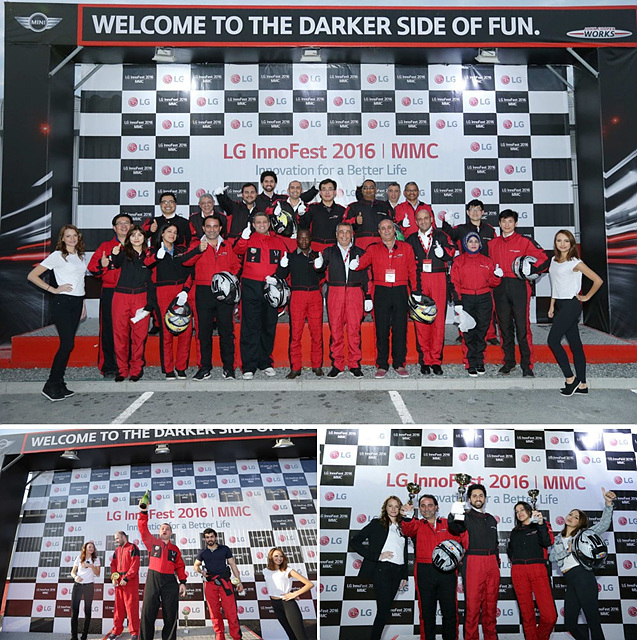 Cart Racing을 통해 선의의 경쟁과 팀워크를 형성하며 참여자들로부터 큰 호응을 얻었다.