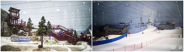 스키 두바이는 참 이색적인 곳입니다.