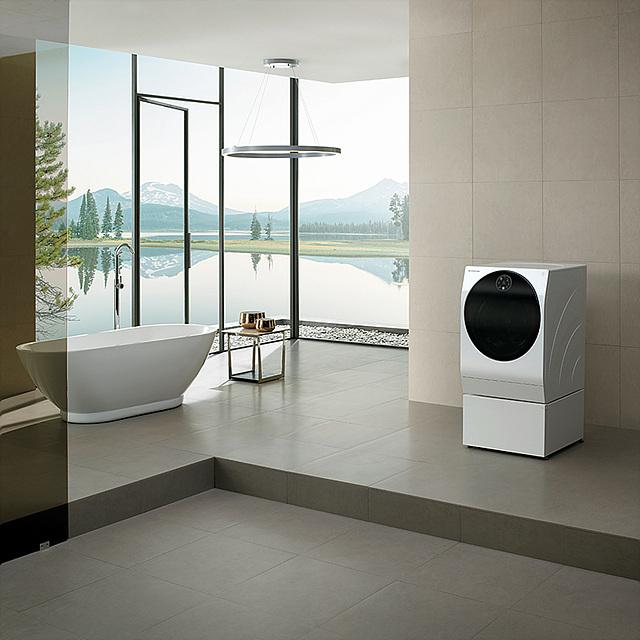 LG SIGNITURE 세탁기의 모습