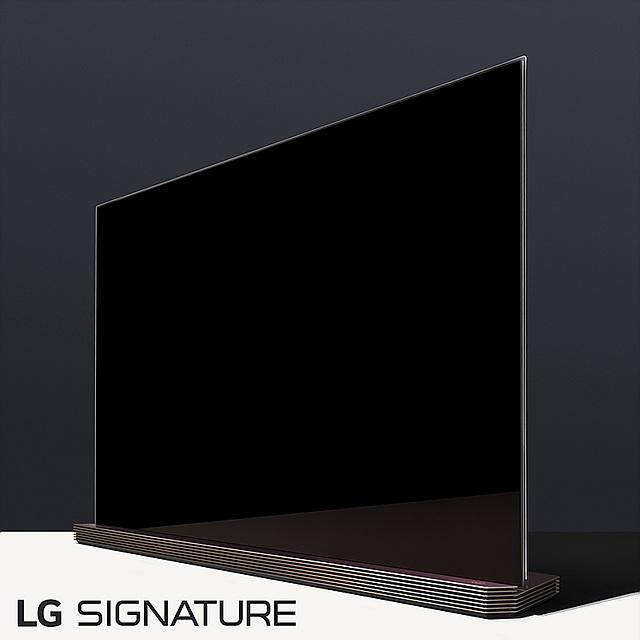 LG SIGNITURE TV의 모습
