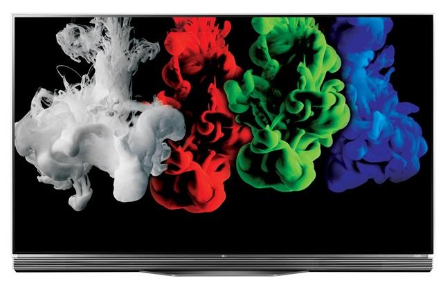 LG전자가 최근에 출시한 55형 울트라 올레드 TV(C시리즈, E시리즈) 제품 사진