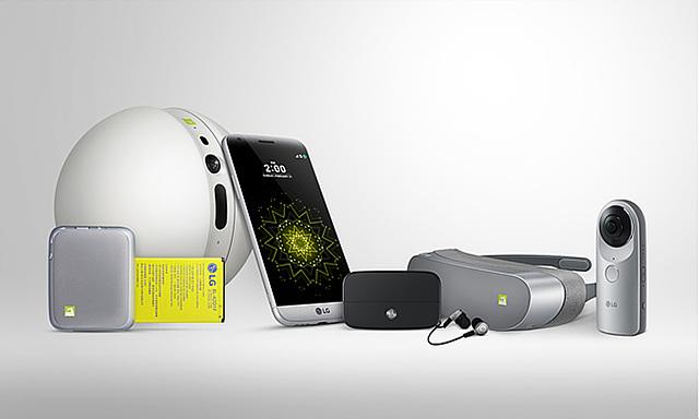 'LG G5'와 'LG 프렌즈'