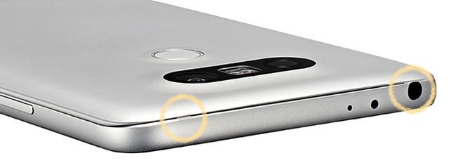 샤이니 컷을 적용한 LG G5