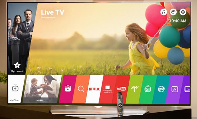 LG 스마트 TV - 라이브 TV 이미지