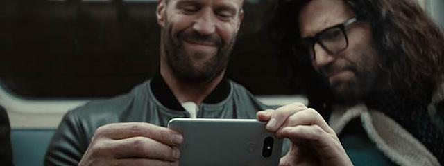 LG G5 광고 장면