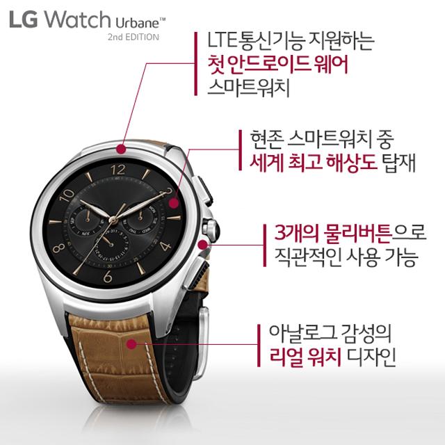 LG 워치 어베인 2nd 에디션