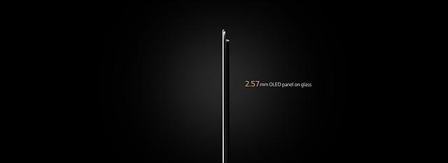 2.57mm의 얇은 두께의 LG SIGNATURE 올레드 TV