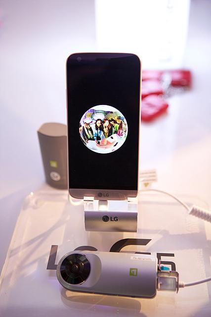 LG 360 캠으로 촬영한 모습