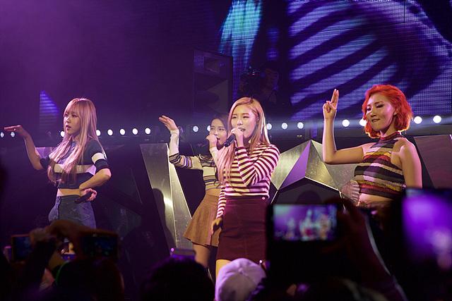 LG G5 쇼케이스에 참석한 마마무