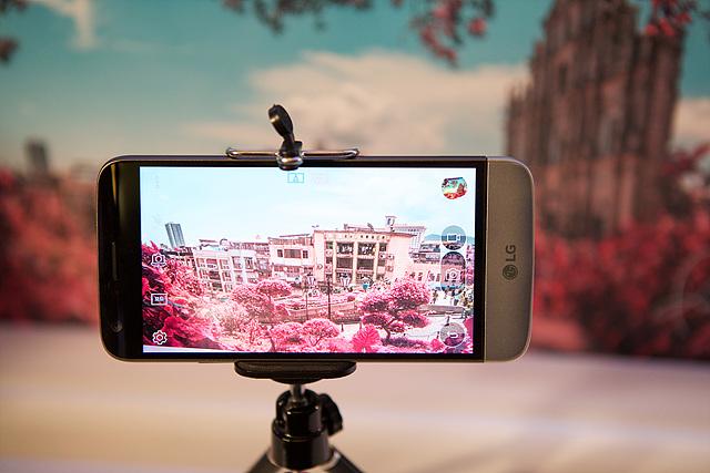 LG G5 카메라 촬영 모습
