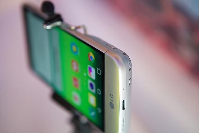 LG G5의 뛰어난 그립감