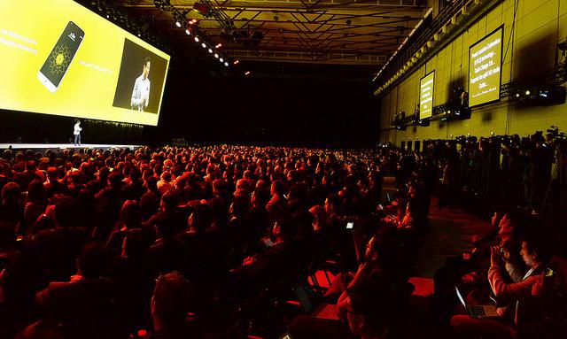 스페인 바르셀로나의 'LG G5'와 'LG 프렌즈' 공개 현장