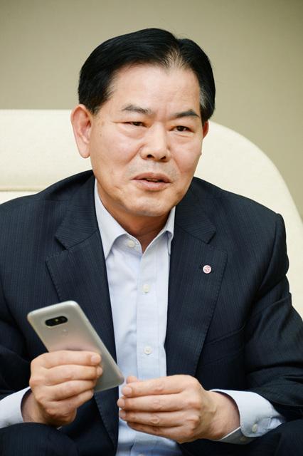 LG MC연구소장 오형훈 전무님 사진