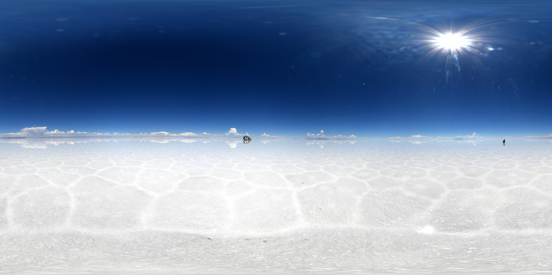 LG 360 월페이퍼 - 볼리비아 유우니 소금 사막 이미지