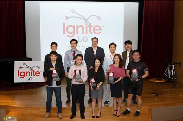 이그나이트 LG에 참석한 직원들 모습