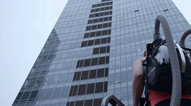 '코드제로 싸이킹'으로 33층 고층 빌딩을 정복하다!