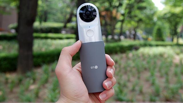 LG 360 캠의 모습입니다.