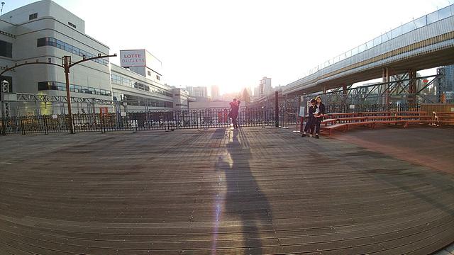 야외 풍경을 G5로 촬영한 사진입니다.