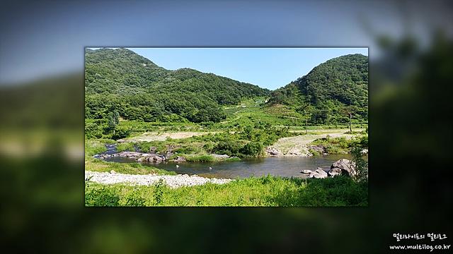 G5필터로 찍은 섬진강 상류 풍경
