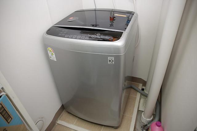 LG 통돌이 세탁기의 모습입니다.