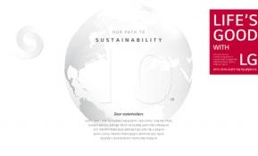 LG전자 지속가능경영보고서, 그 10년의 기록