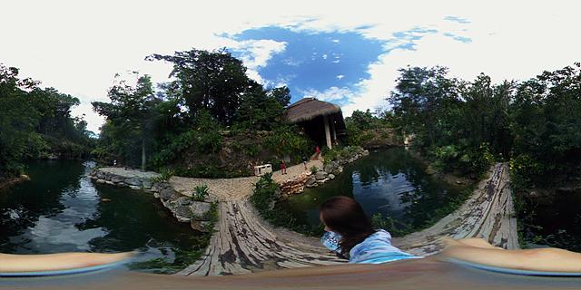 LG 360 캠으로 촬영한 정글 투어 인증샷