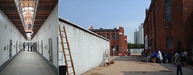 존원이 그래피티 작업을 한 서대문 형무소 사진