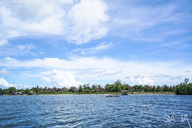 코타키나발루의 바다 모습