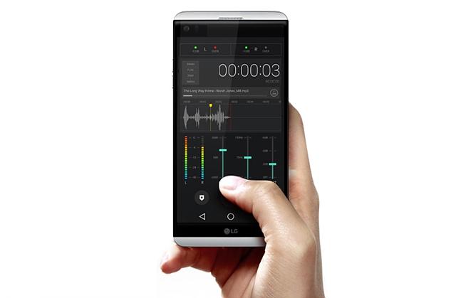 고음질 녹음도 가능한 LG V20