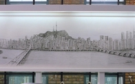 천재 아티스트, 서울의 풍경을 와이드모니터에 담다