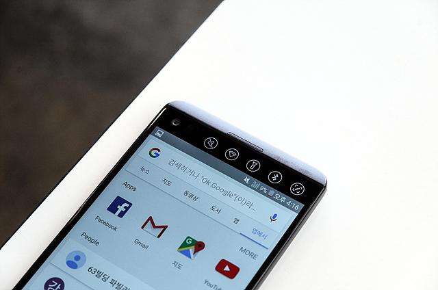 안드로이드 7.0 누가 탑재한 LG V20